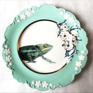 Anthropologie Lou Rota Chameleon Dessert Plate